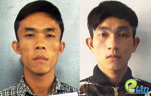 Hai kẻ trộm bị bắt giữ. Ảnh: CTV