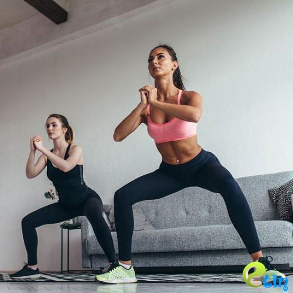 Trà My thường xuyên luyện tập Sumo squat giúp vòng 3 nảy nở